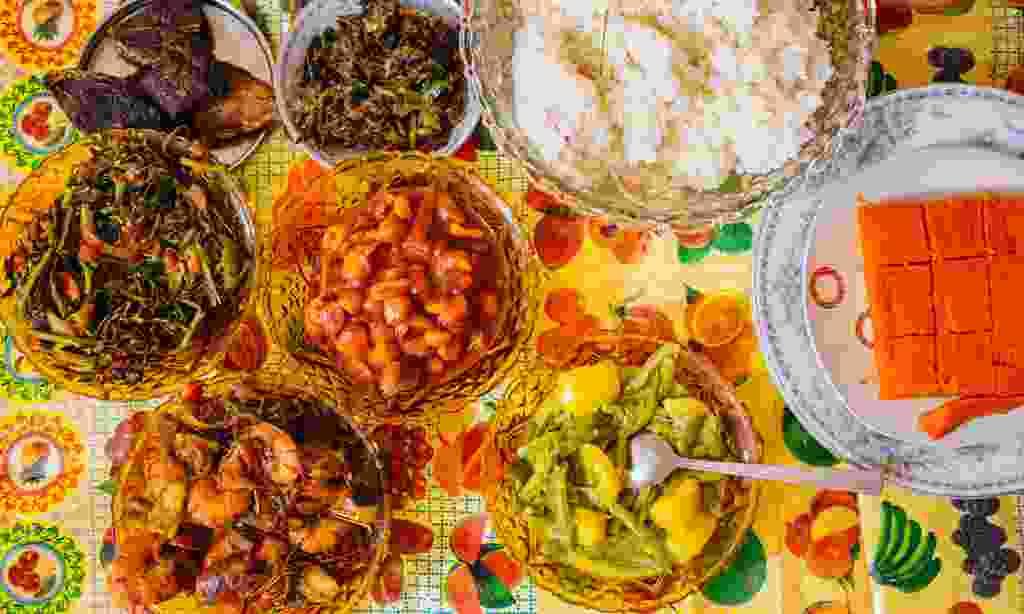 A feast in Sri Lanka (Intrepid Travel)