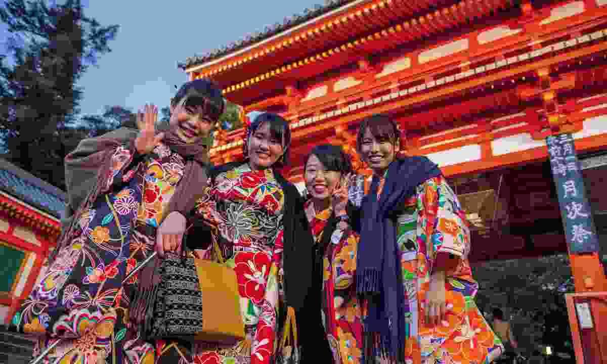 Yasaka shrine (World Expeditions)