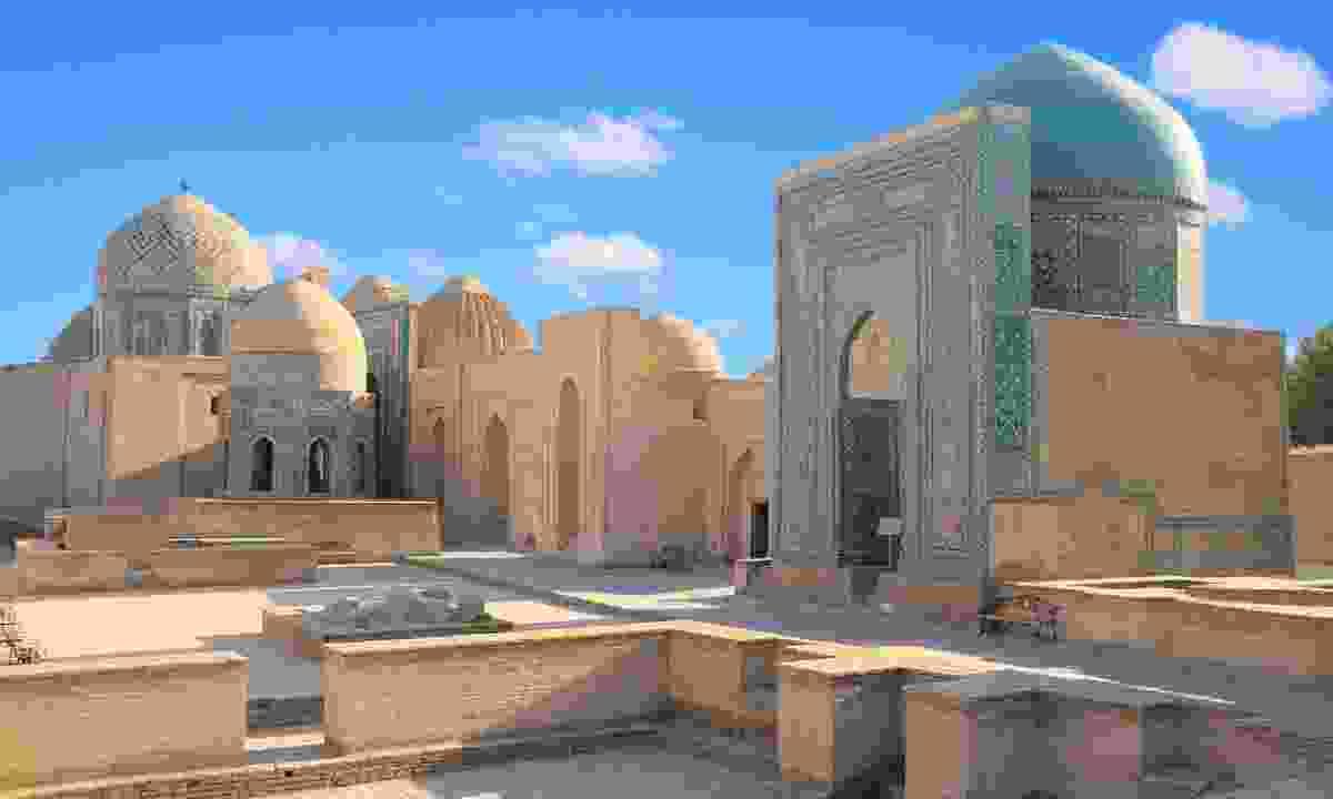 Mausoleum Shochi-Zinda in Samarkand (Shutterstock)