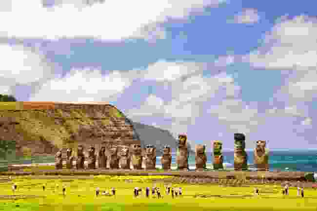 Ahu Tongariki, Easter Island (Shutterstock)