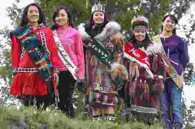 Miss World Eskimo Indian contestants (Alamy)
