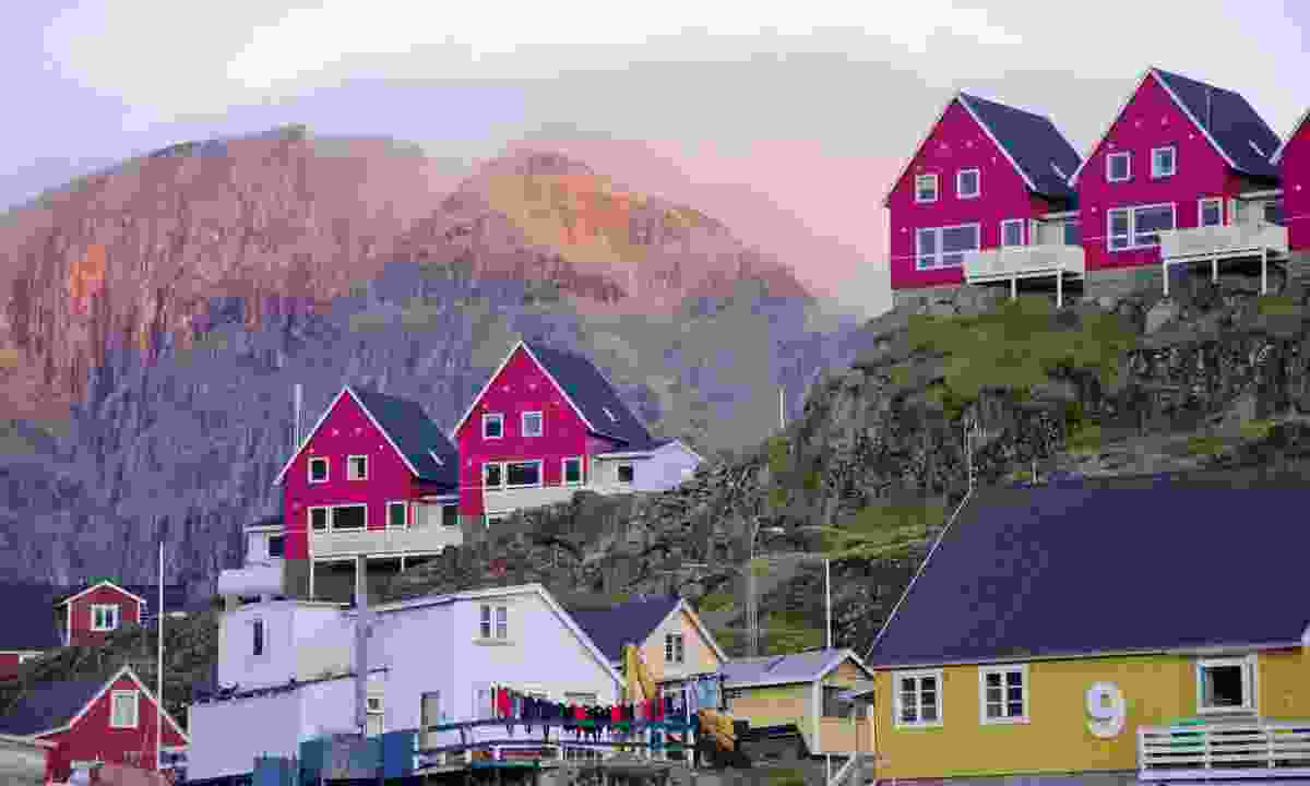 Sunset over Sisimiut (Phoebe Smith)