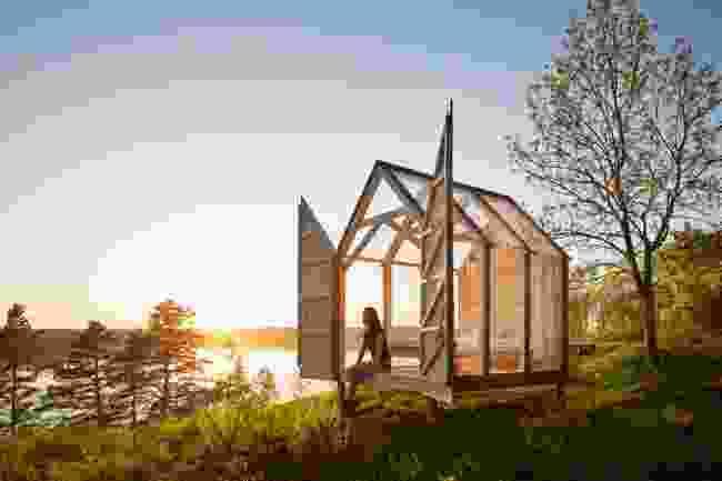 A 72 hour cabin on the Henriksholm island in Dalsland, West Sweden (Anna-Lena Lundqvist/imagebank.sweden.se)