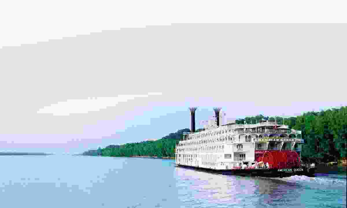 Cruise down the Mississippi River (Bon Voyage)
