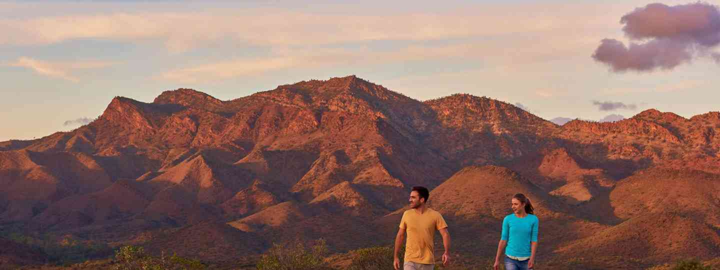 Glass Gorge, Flinders Ranges and Outback, Into the desert (SATC)