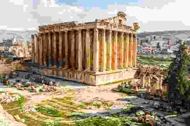 Temple of Bacchus, Baalbek (Shutterstock)