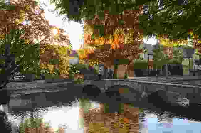 Bourton on the water in the late afternoon (Shutterstock)