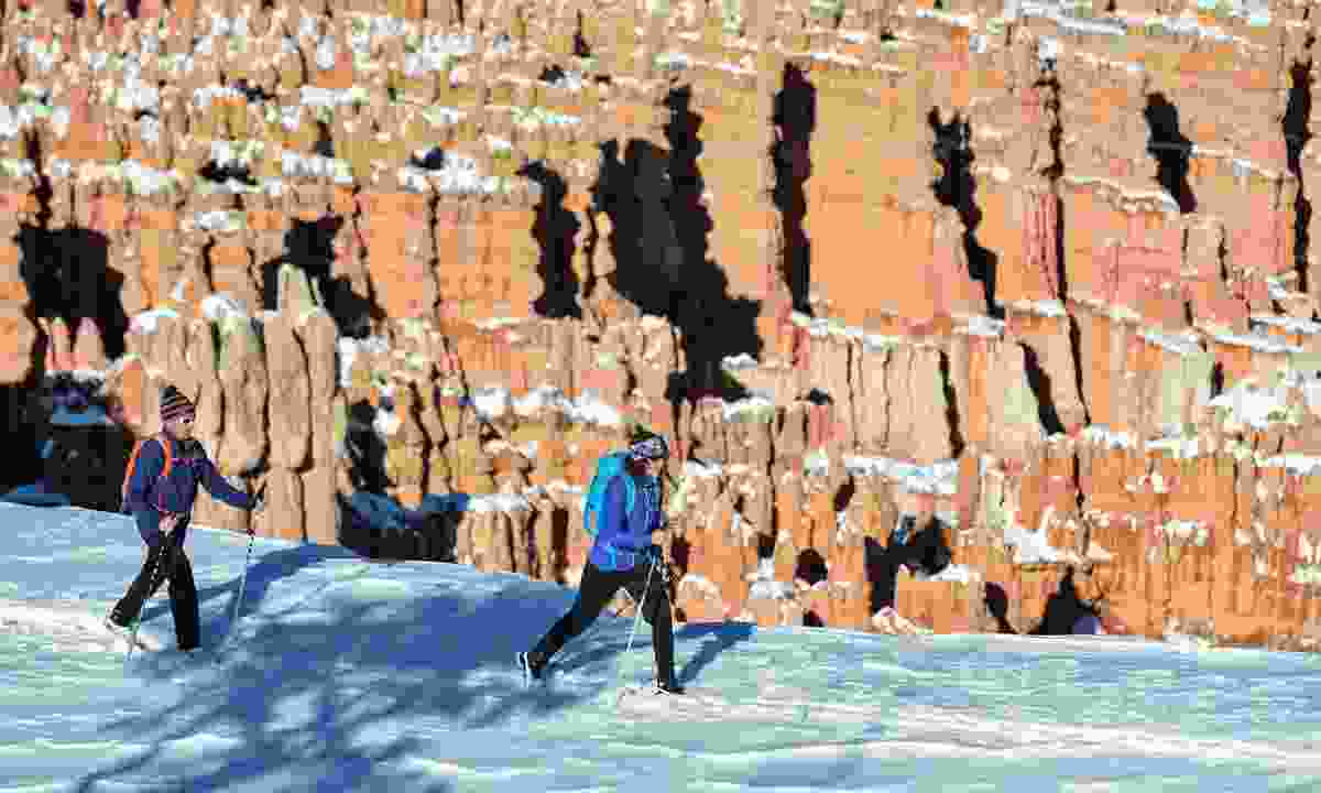 Bryce Canyon National Park Snowshoeing (Hage Photo)