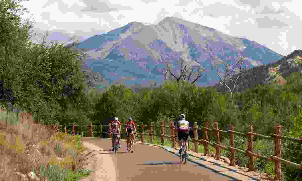 Cycling near Rio Grande (At Your Pace/Colorado.com)