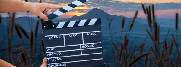 Adventure film maker at work (Dreamstime)