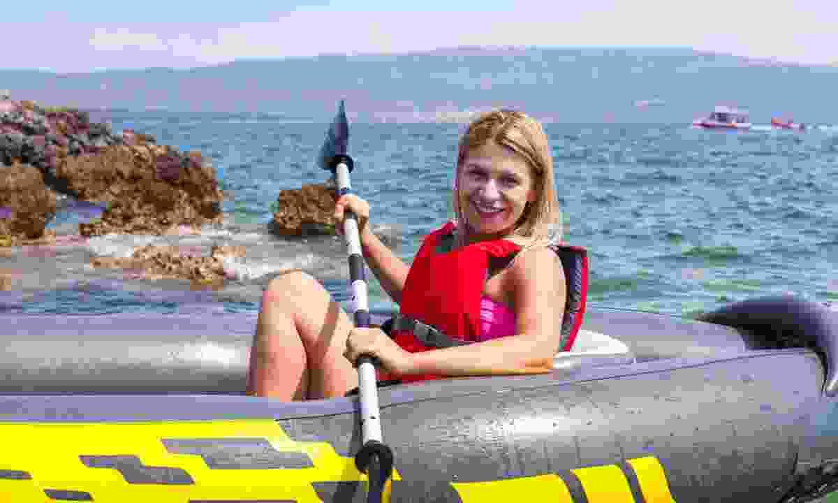 Kayaking in Croatia (Dreamstime)