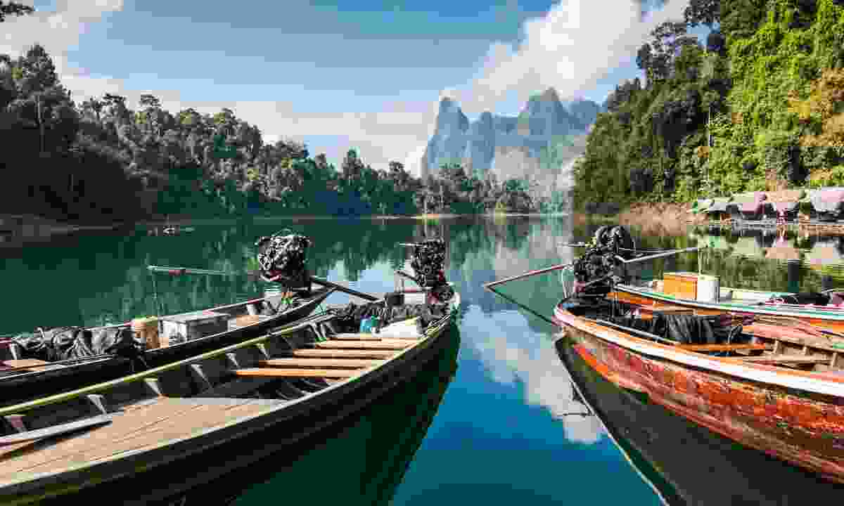 Long-tail Boats, Khao Sok National Park (Dreamstime)
