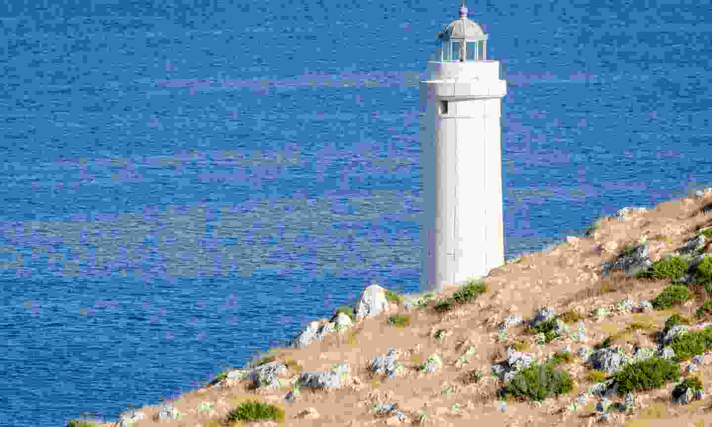 Lighthouse of Capo d'Otranto where the Adriatic and Ionian seas meet (Dreamstime)