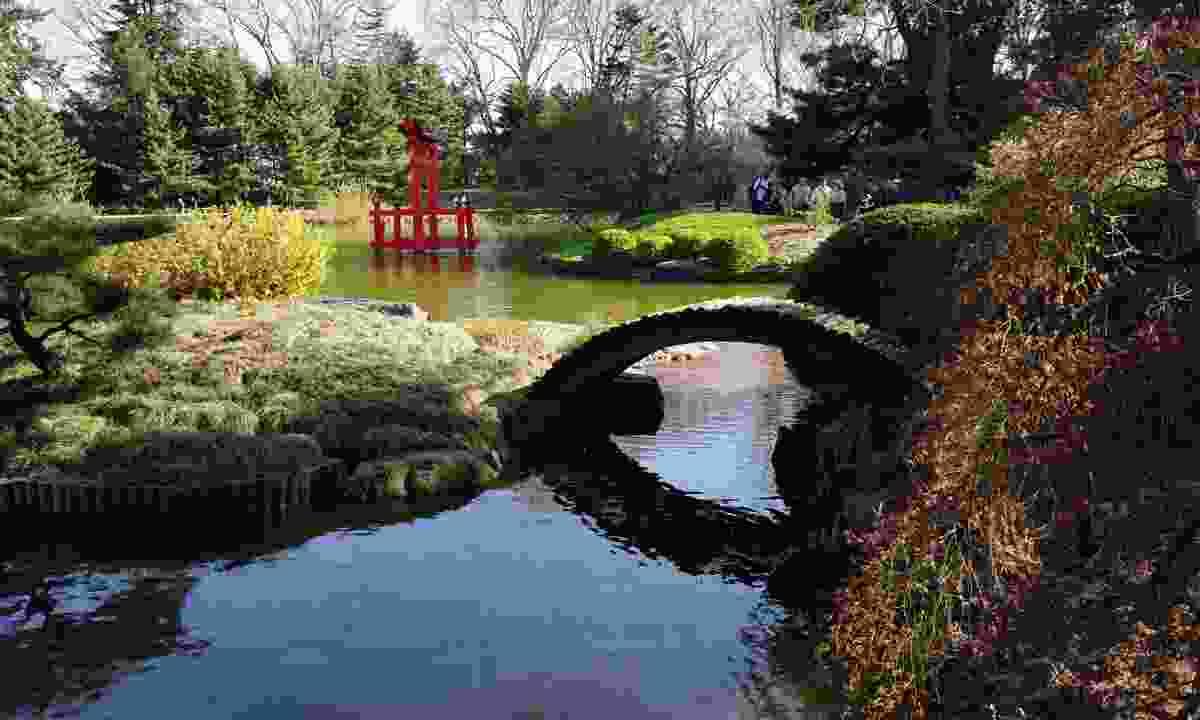 Japanese garden in Brooklyn (Dreamstime)