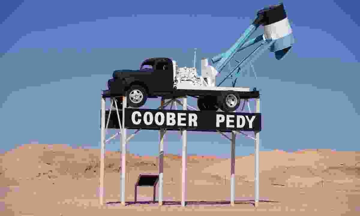 Welcome to Coober Pedy (Dreamstime)
