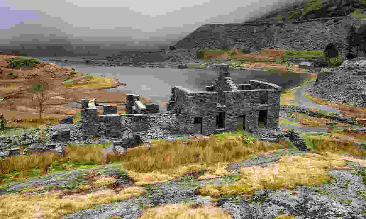 Abandoned Cwmorthin Slate Quarry at Tanygrisiau in North Wales (Dreamstime)
