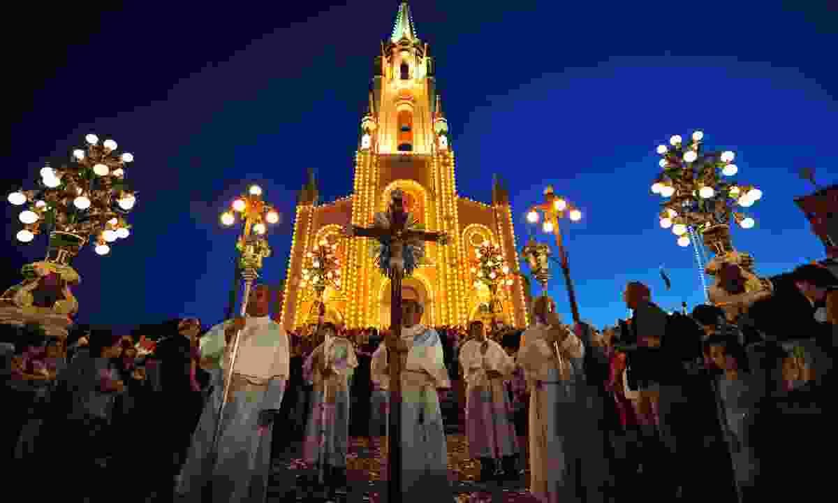 Ghajnsielem procession