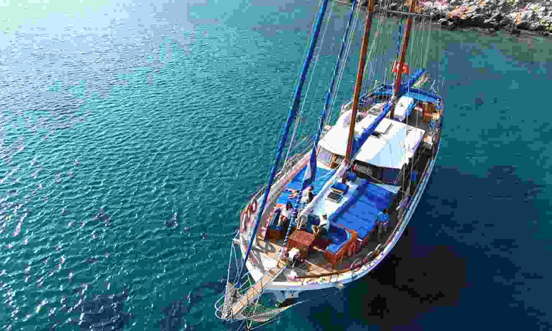 Your gulet in Turkey (Shutterstock)