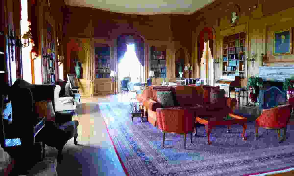Inside Oheka Castle (Helen Moat)