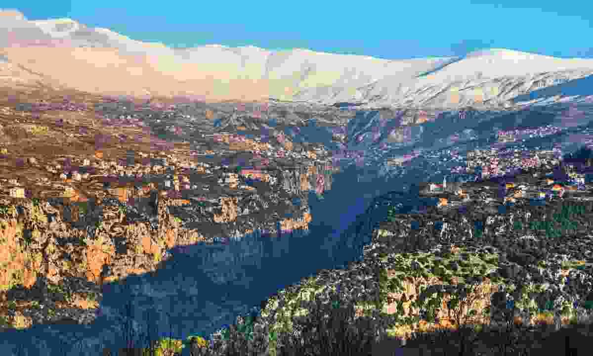 Kadisha Valley, Lebanon (Shutterstock)