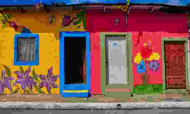 The colourful houses of Apaneca, El Salvador (Shutterstock)