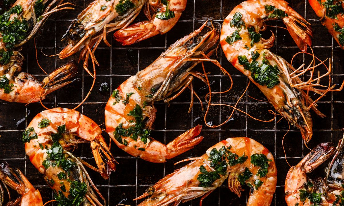 Grilled Tiger prawns (Shutterstock)
