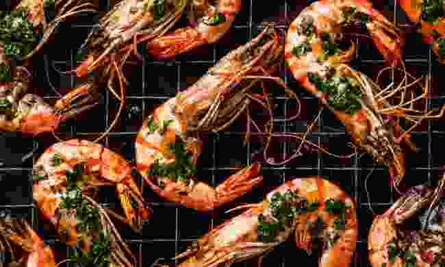 Grilled Tiger prawns (Shutterstock)