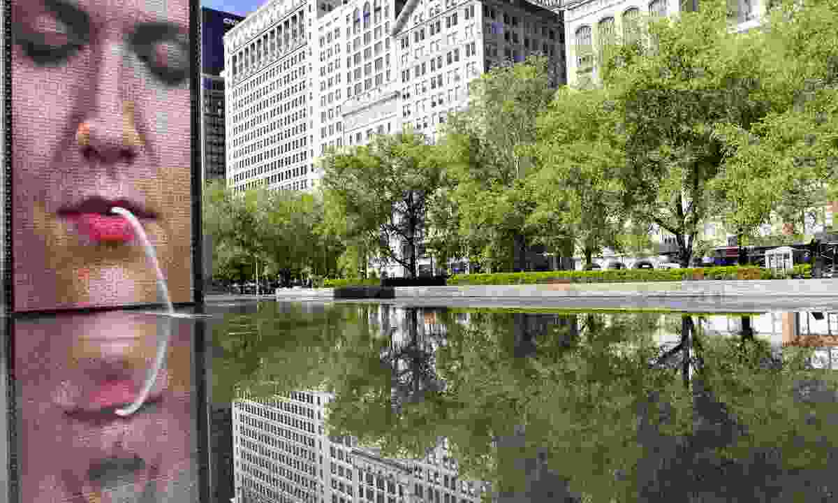 Crown Fountain, Chicago (Shutterstock)