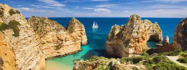 A bay near Lagos town, Algarve