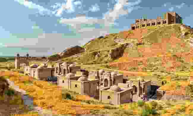 Hisor Fortress in Tajikistan (Shutterstock)