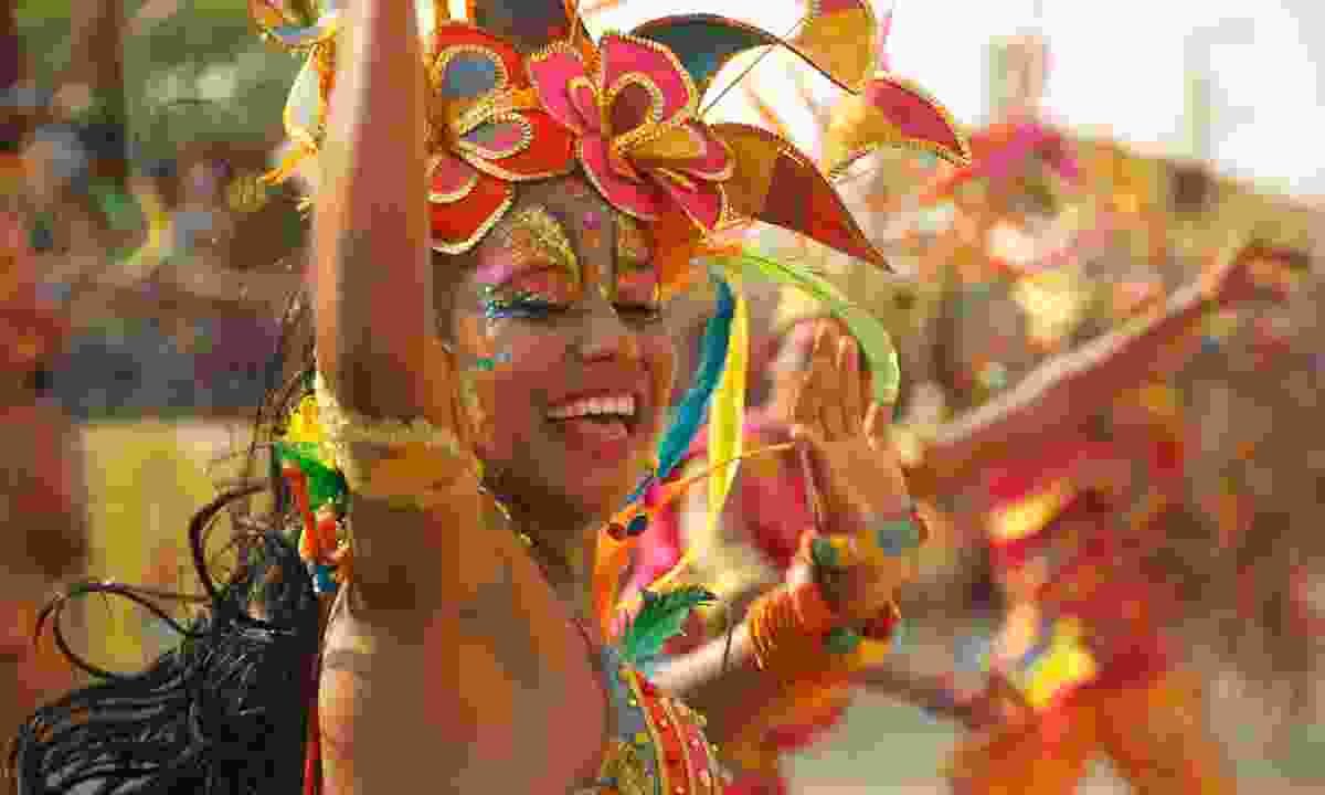 Carnival celebrations in Colombia (Dreamstime)