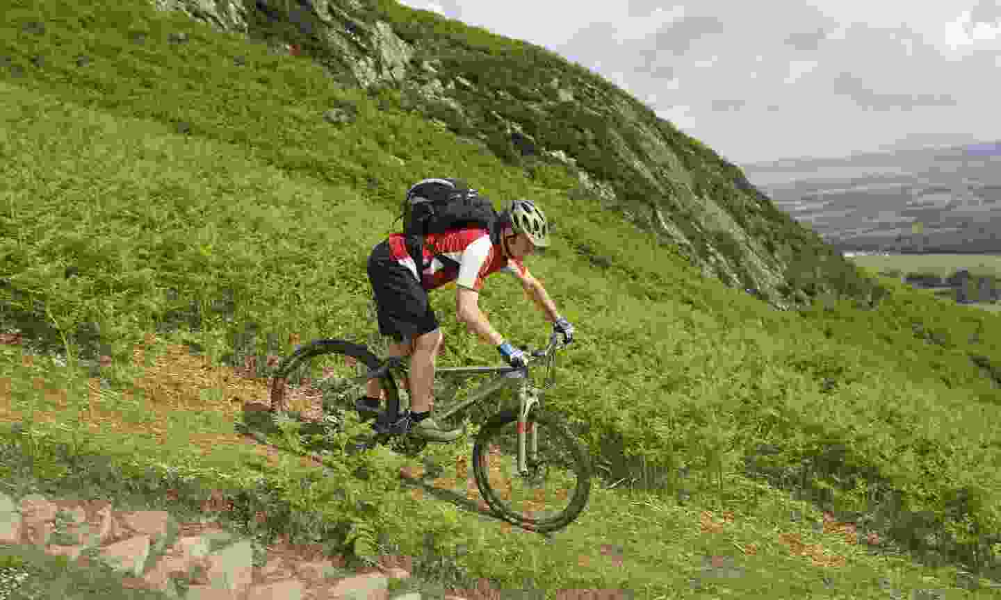 Scotland's hillsides are exhilarating to explore by bike (Dreamstime)