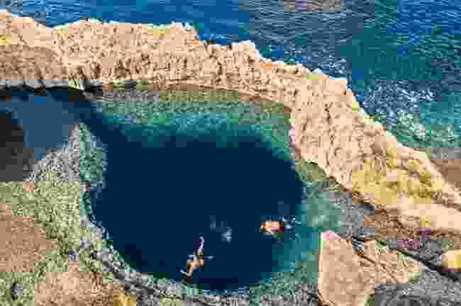 Blue Hole, Gozo (Dreamstime)