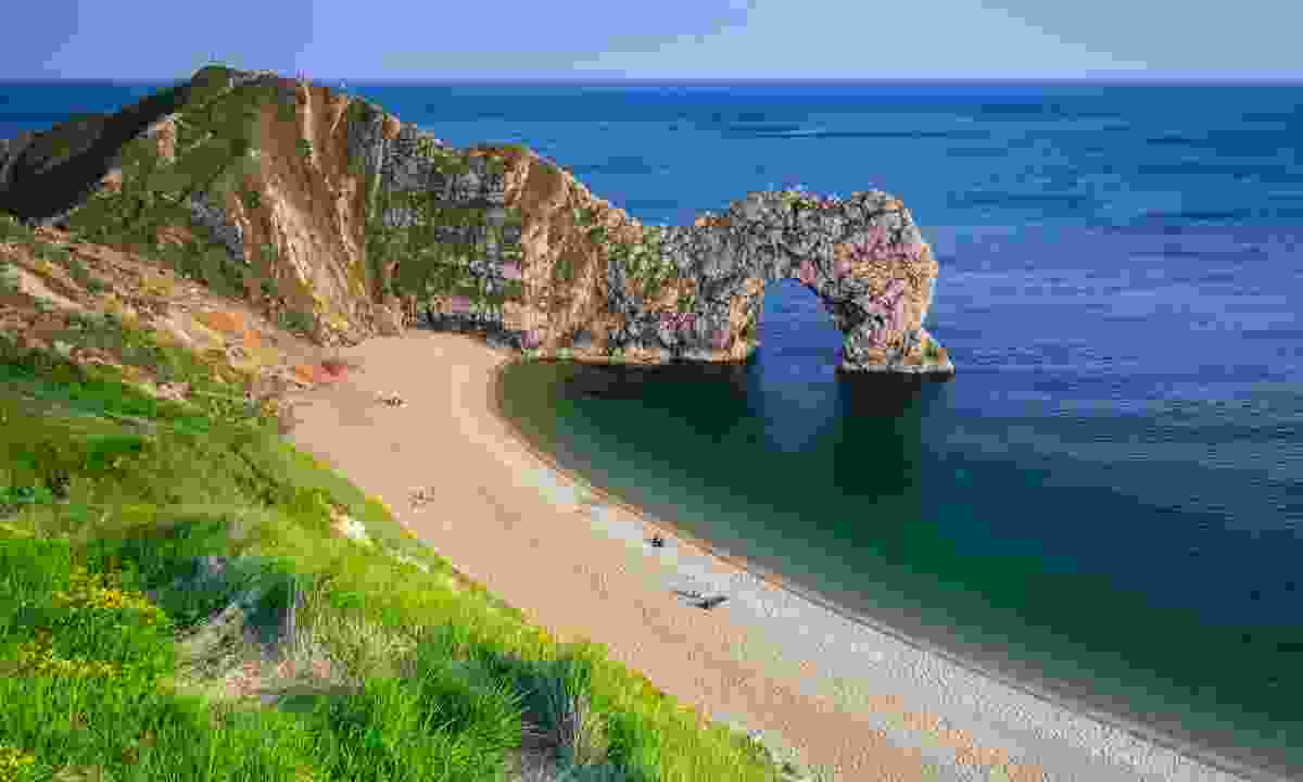 Durdle Door, on the Jurassic Coast of Dorset (Dreamstime)