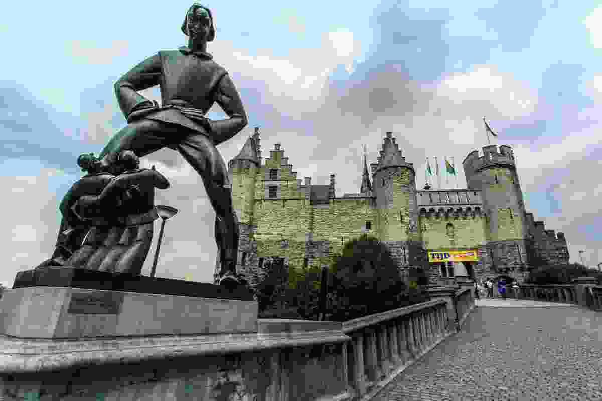 Het Steen fortress, Antwerp, Belgium (Dreamstime)
