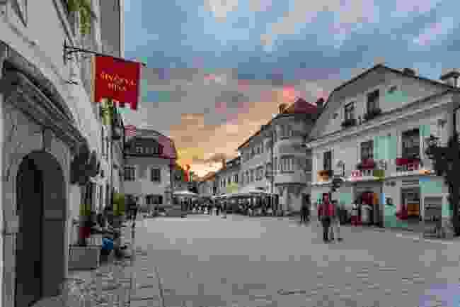 Radovljica old town (Jošt Gantar)