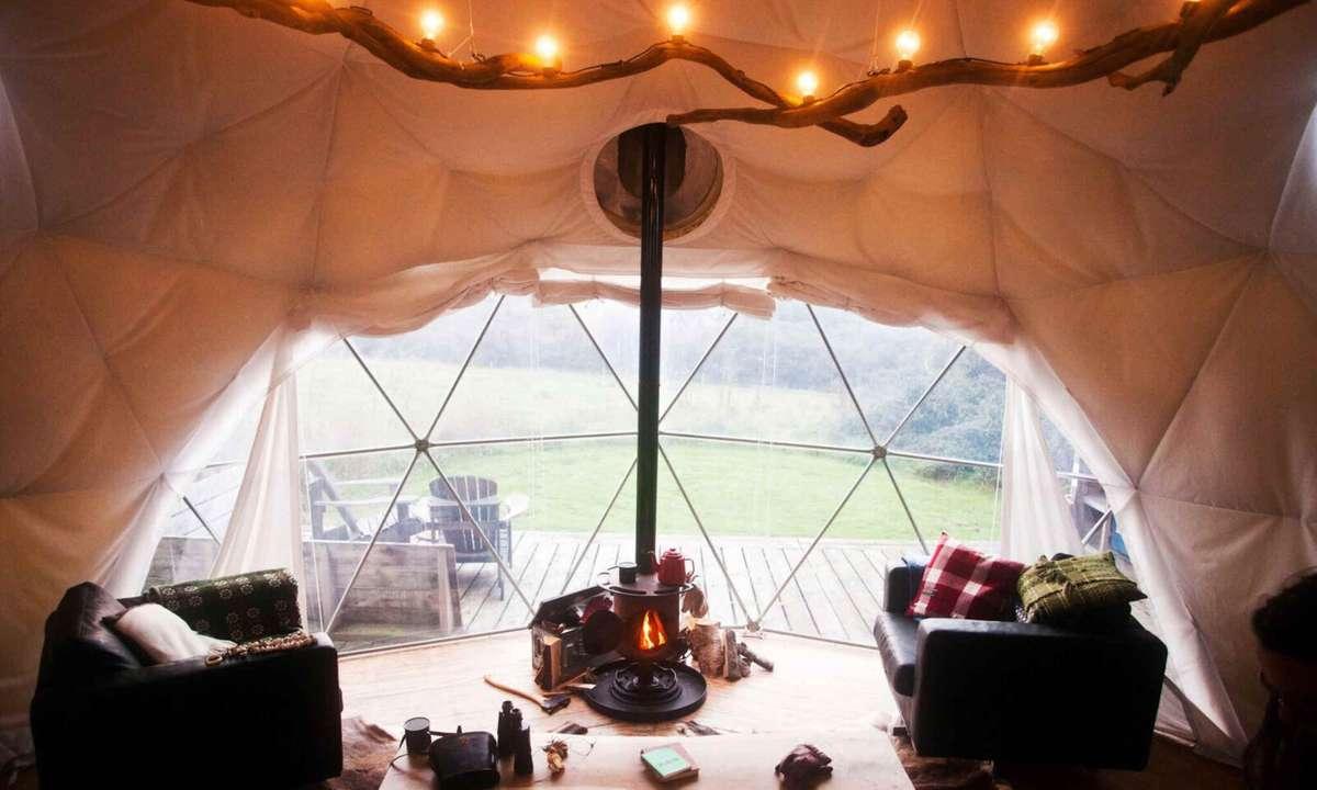 Fforest Dome, Manorafon (Fforest archives)