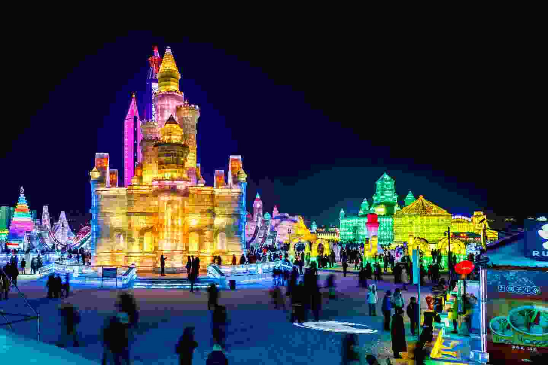 Harbin Ice Festival, China (Shutterstock)