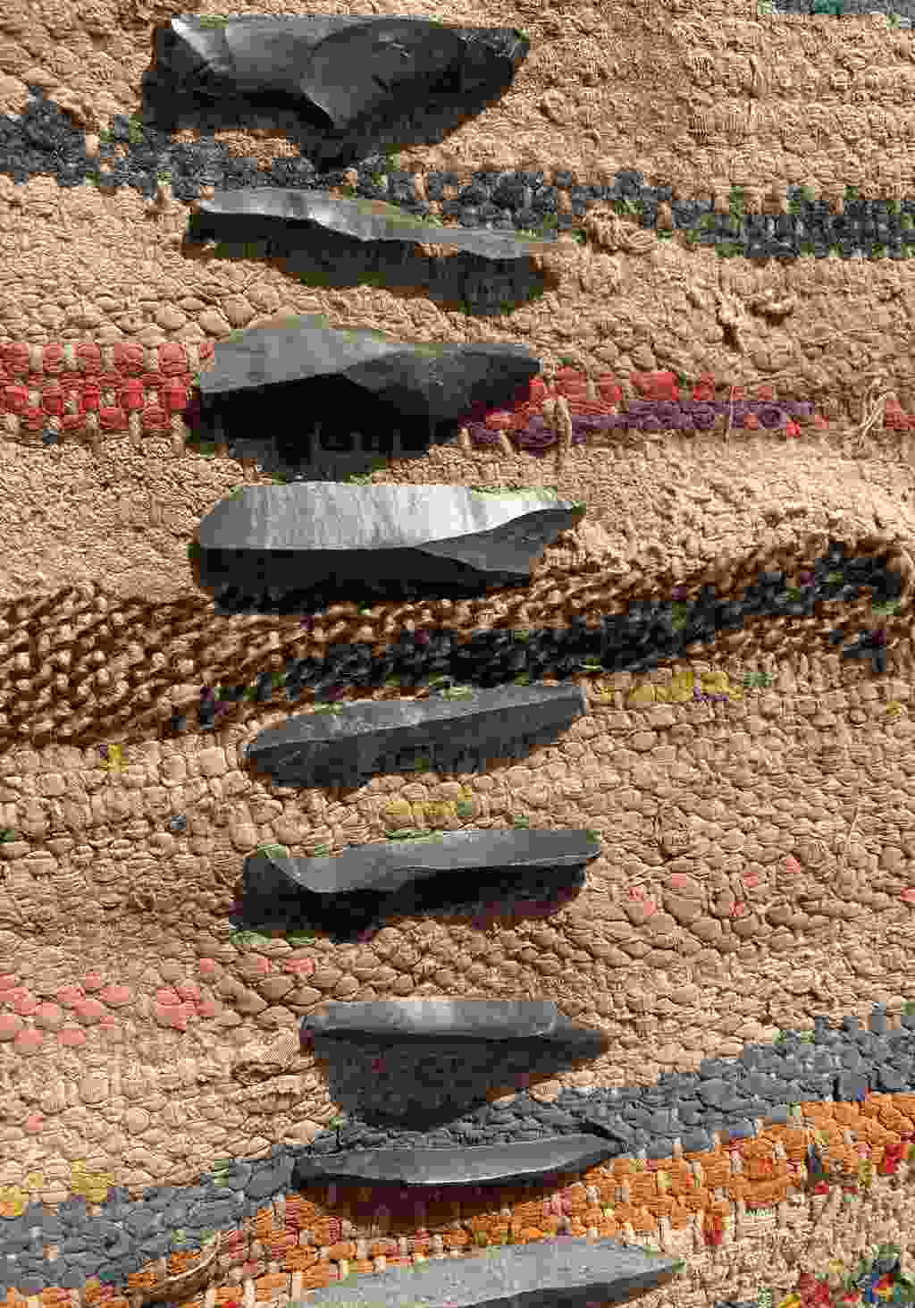 Stone Age tools (Alice Morrison)