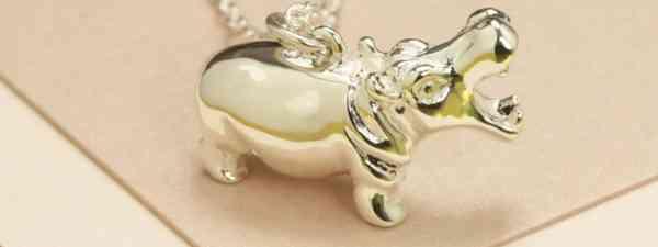 WIN! A silver Jana Reinhardt 'hippo' necklace, worth £95