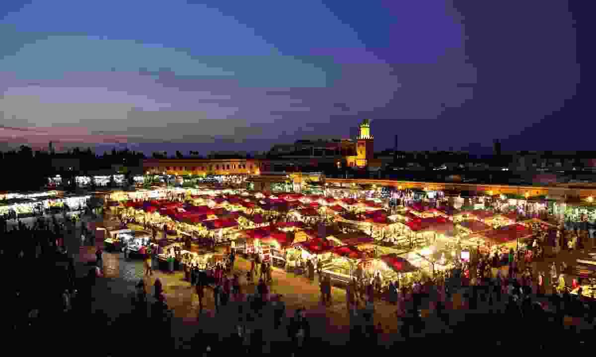 Marrakech market (Planet Rail)