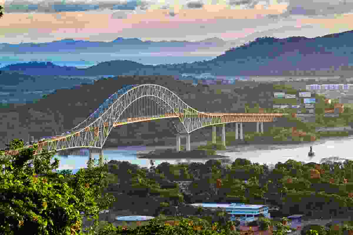 The Bridge of the Americas, Panama (Shutterstock)