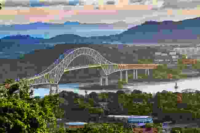 The Bridge of the Americas, Panama (Shutterstock)