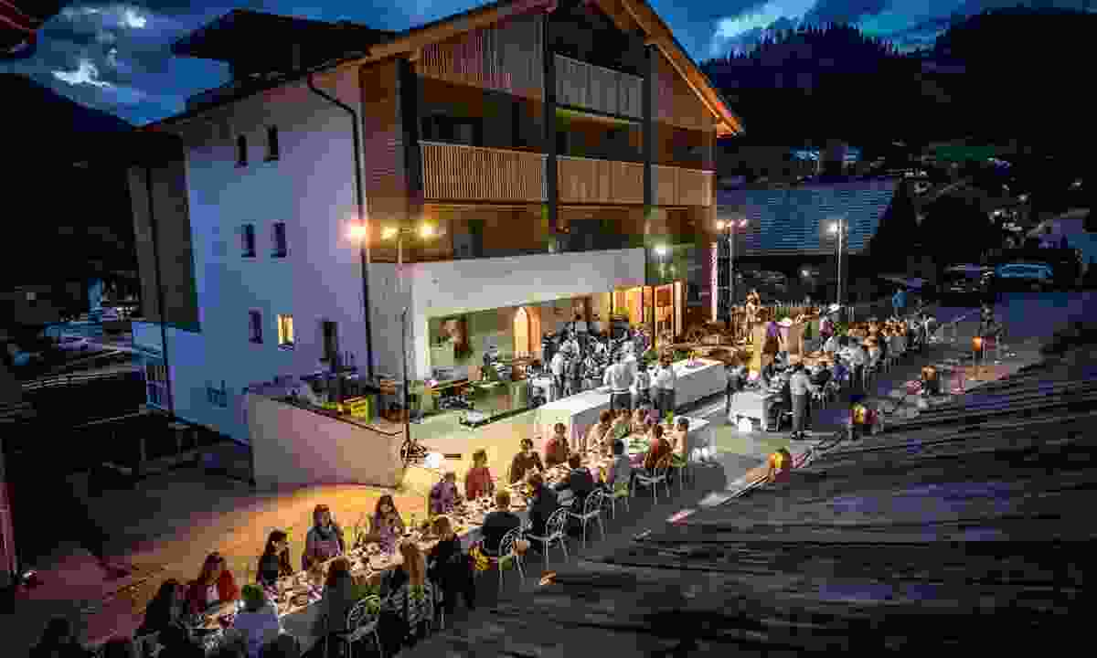The annual 'Dining under the Stars' event (Cena Stelle Freddy)
