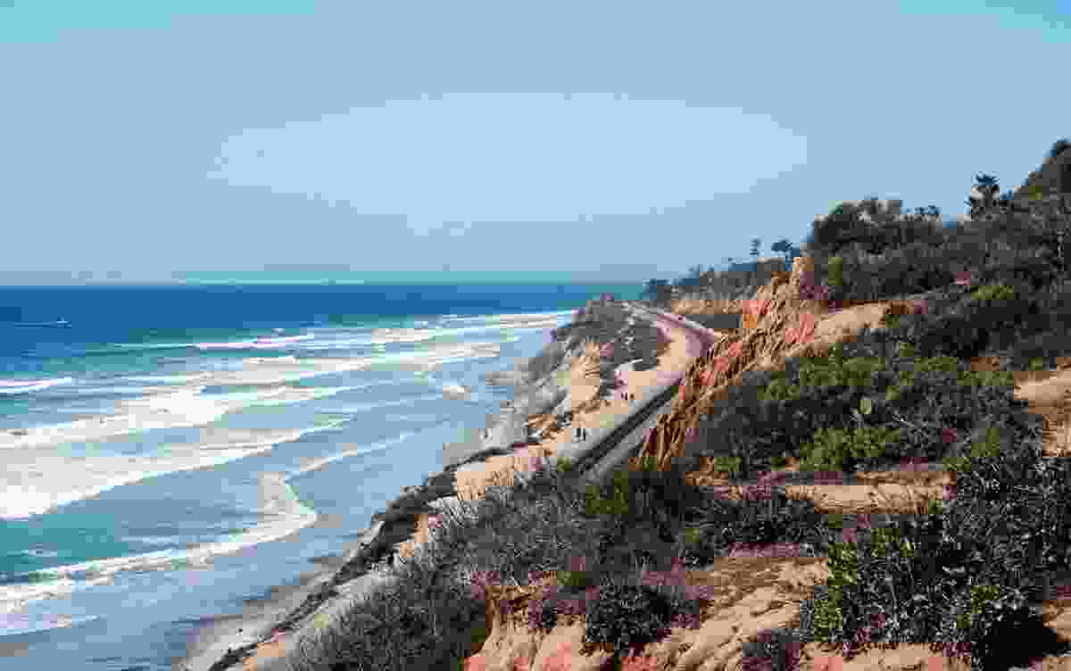 The route of the Surfliner, along the Del Mar (Shutterstock)