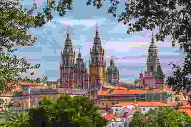 Santiago Cathedral, in Santiago de Compostela, Spain (Shutterstock)