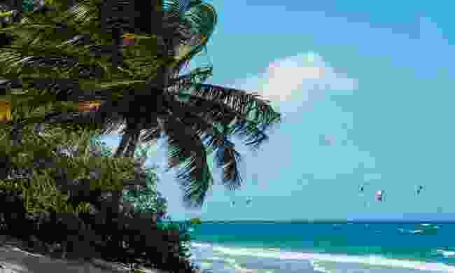 Kitesurf at Carabete beach (Shutterstock)