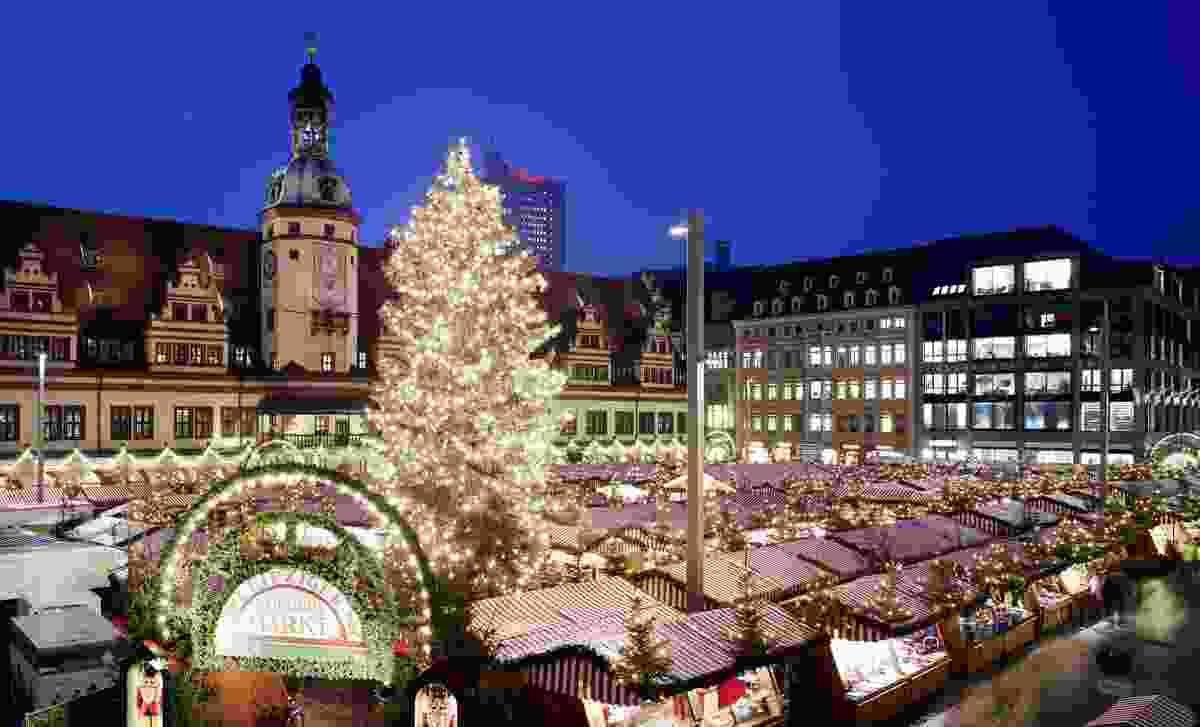 Leipzig Christmas Market (Shutterstock)