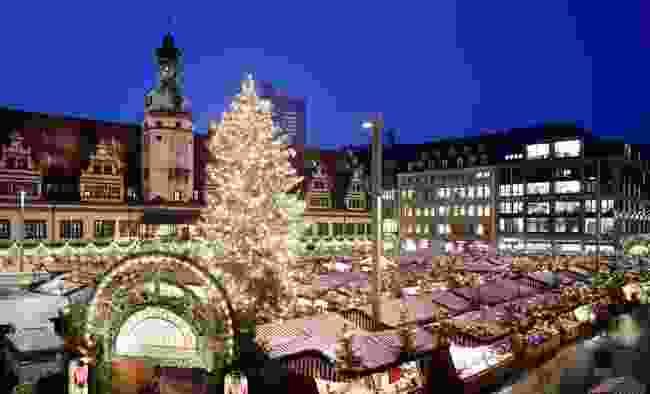 Leipzig Christmas Market, Germany (Shutterstock)
