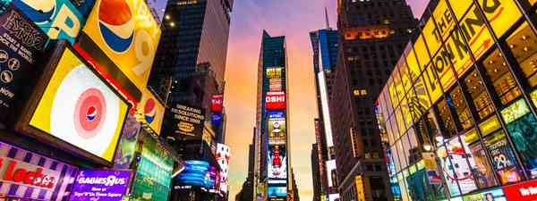 Times Square (Shutterstock: see credit below)